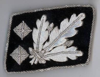 SS-Obergruppenfuhrer set right tab